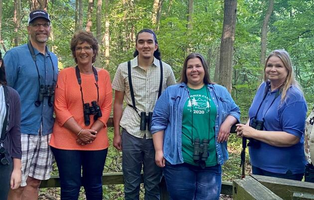 Congresswoman Jackie Walorski Goes Birding with Audubon Great Lakes