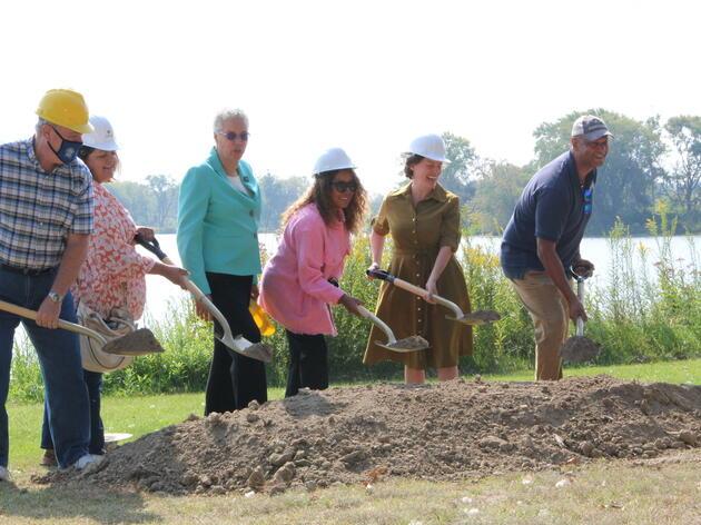 Audubon Great Lakes, Forest Preserves Break Ground on Major Habitat Restoration Project at Powderhorn Lake to Restore 100 Acres of Wetlands