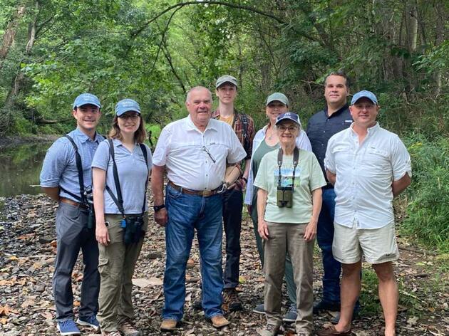 Congressman Jim Baird and Indiana State Rep. Beau Baird Go Birding With Audubon Great Lakes on Family Farm